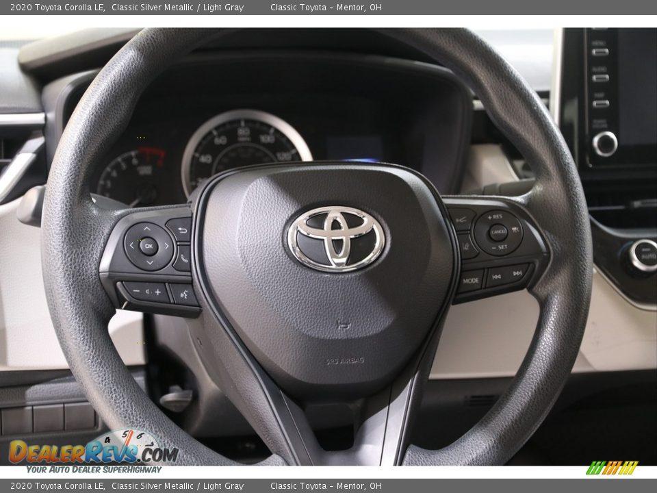 2020 Toyota Corolla LE Steering Wheel Photo #7