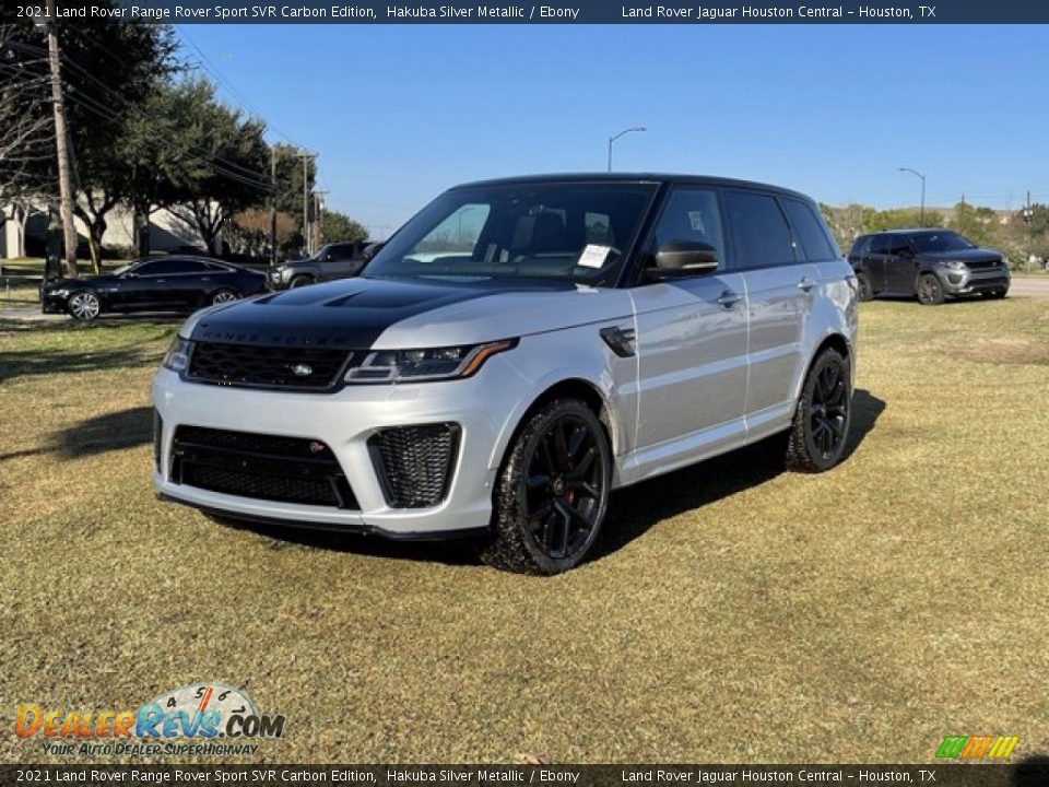 2021 Land Rover Range Rover Sport SVR Cabon Edition Hakuba Silver Metallic / Ebony Photo #1