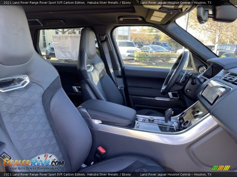 Front Seat of 2021 Land Rover Range Rover Sport SVR Cabon Edition Photo #4