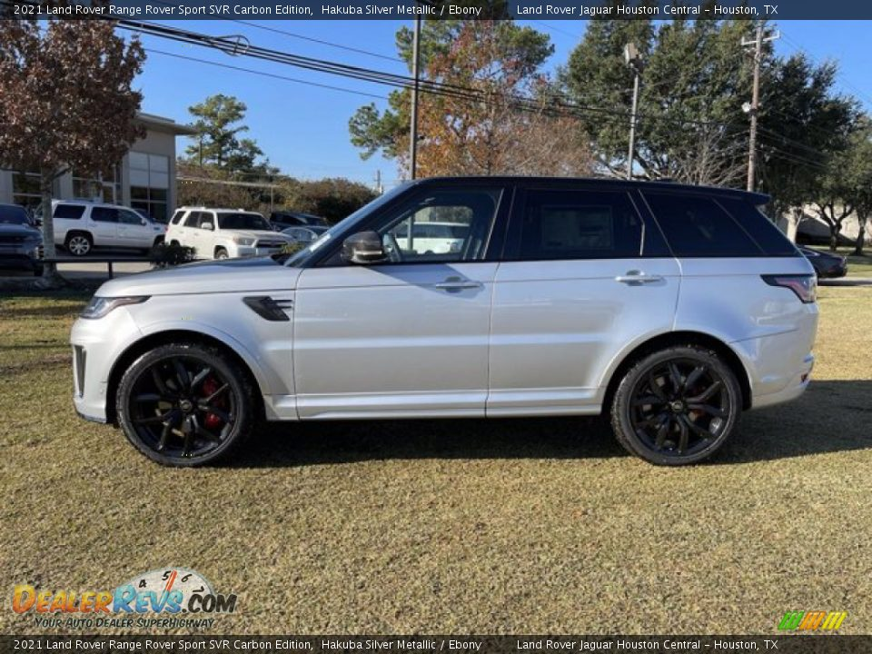 Hakuba Silver Metallic 2021 Land Rover Range Rover Sport SVR Cabon Edition Photo #7