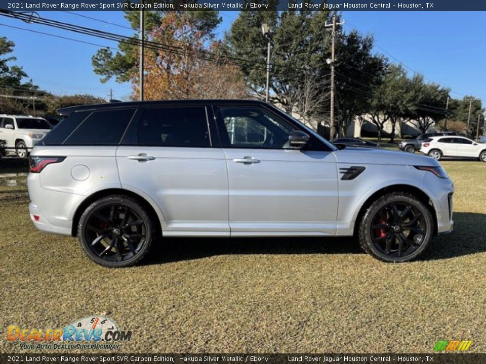 Hakuba Silver Metallic 2021 Land Rover Range Rover Sport SVR Cabon Edition Photo #8