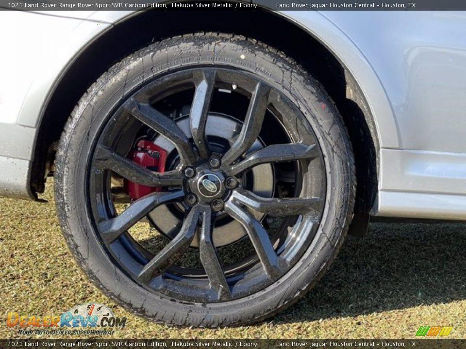 2021 Land Rover Range Rover Sport SVR Cabon Edition Wheel Photo #12