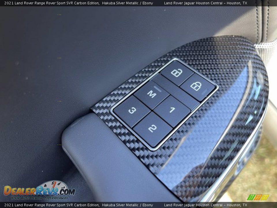Controls of 2021 Land Rover Range Rover Sport SVR Cabon Edition Photo #14