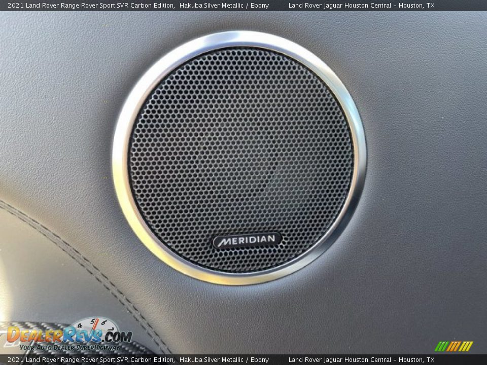 Audio System of 2021 Land Rover Range Rover Sport SVR Cabon Edition Photo #15