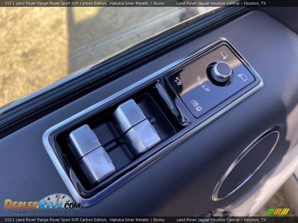 Controls of 2021 Land Rover Range Rover Sport SVR Cabon Edition Photo #16