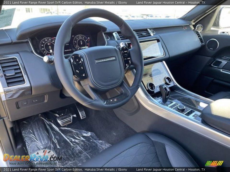Ebony Interior - 2021 Land Rover Range Rover Sport SVR Cabon Edition Photo #17