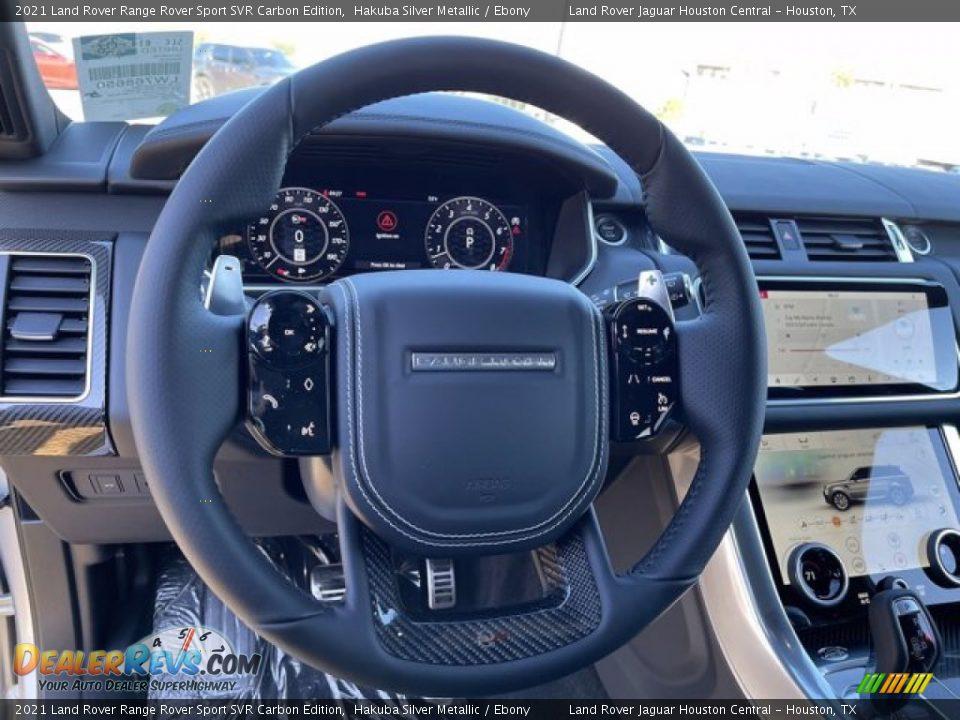 2021 Land Rover Range Rover Sport SVR Cabon Edition Steering Wheel Photo #20