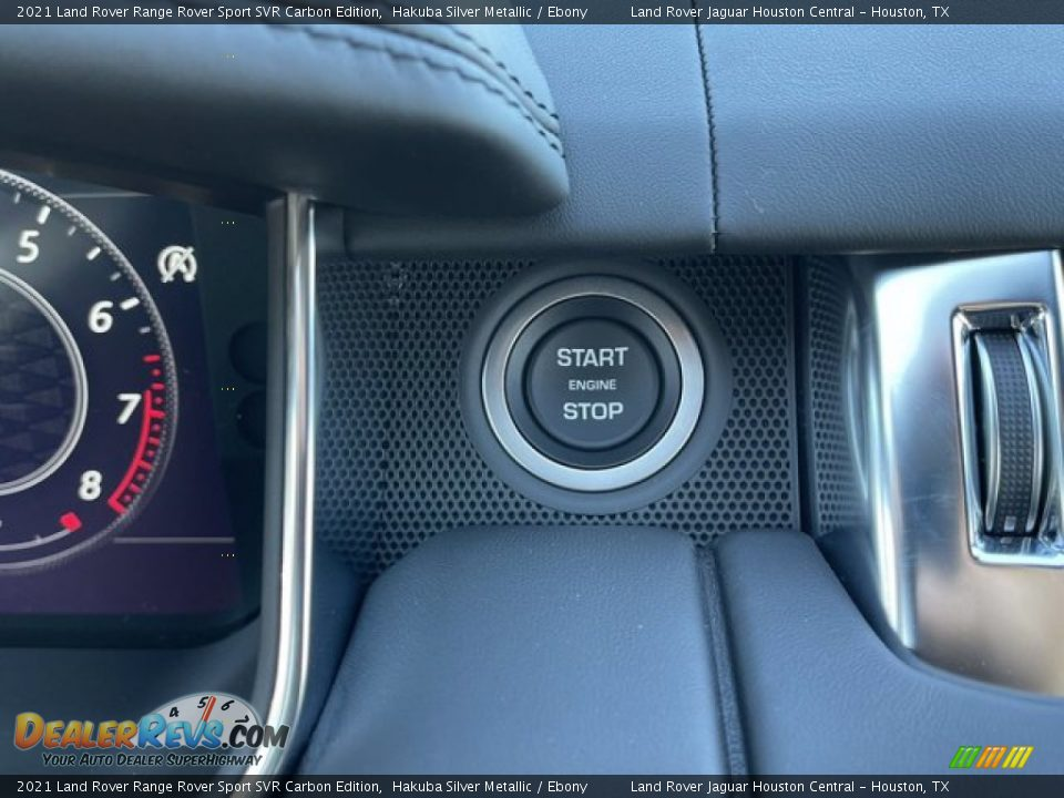 Controls of 2021 Land Rover Range Rover Sport SVR Cabon Edition Photo #22