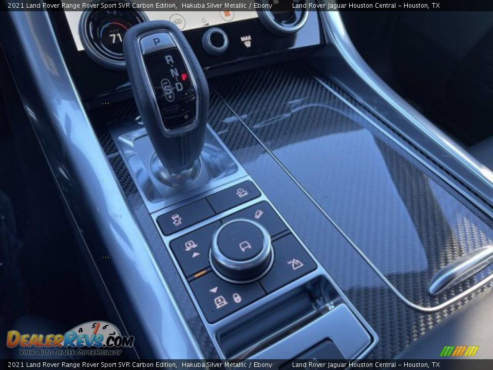 2021 Land Rover Range Rover Sport SVR Cabon Edition Shifter Photo #29