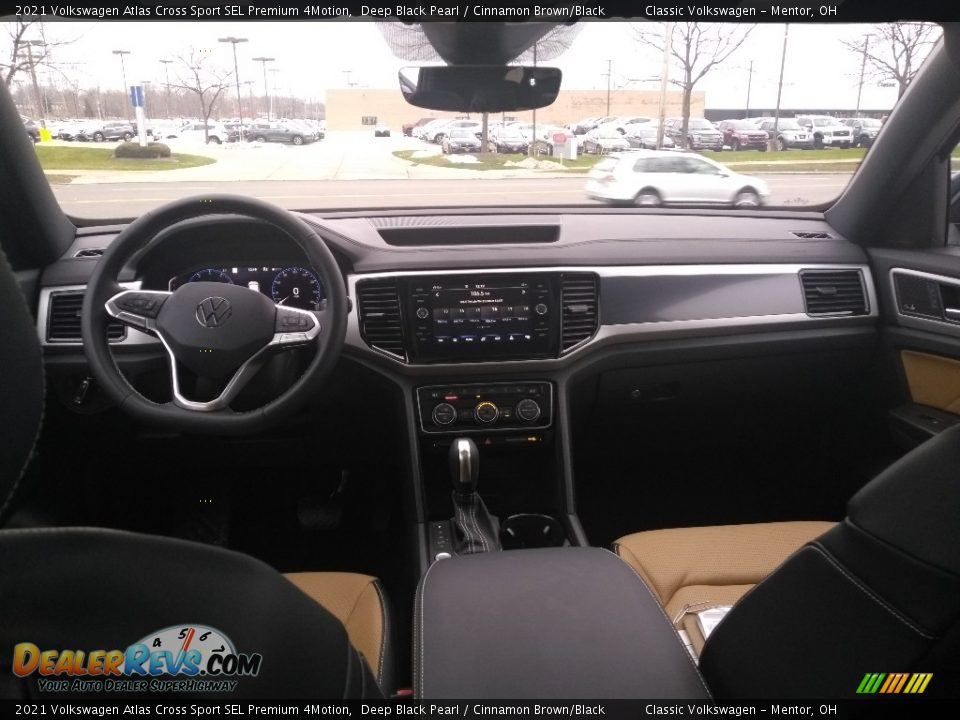 Dashboard of 2021 Volkswagen Atlas Cross Sport SEL Premium 4Motion Photo #3