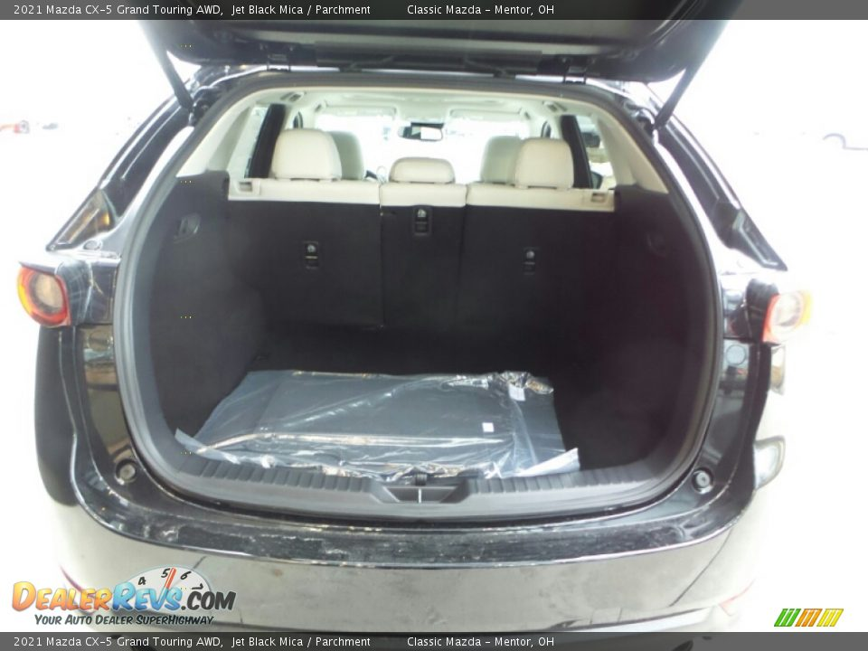 2021 Mazda CX-5 Grand Touring AWD Trunk Photo #6