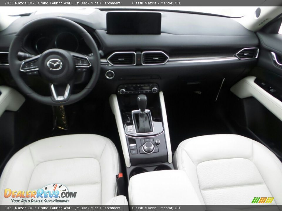 Front Seat of 2021 Mazda CX-5 Grand Touring AWD Photo #7