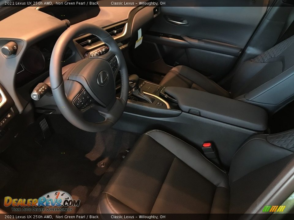 Front Seat of 2021 Lexus UX 250h AWD Photo #2