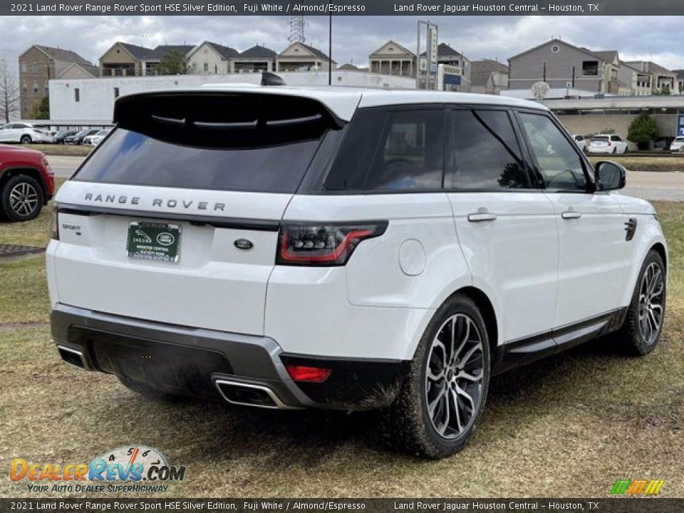 2021 Land Rover Range Rover Sport HSE Silver Edition Fuji White / Almond/Espresso Photo #3