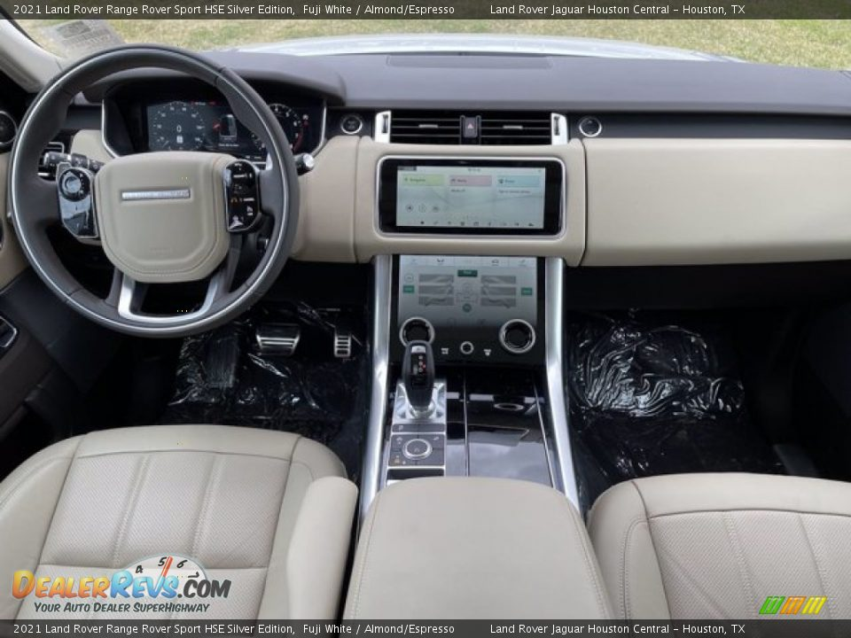 Dashboard of 2021 Land Rover Range Rover Sport HSE Silver Edition Photo #5