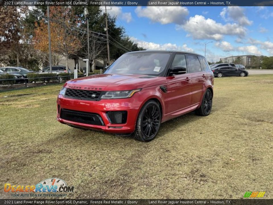 2021 Land Rover Range Rover Sport HSE Dynamic Firenze Red Metallic / Ebony Photo #1