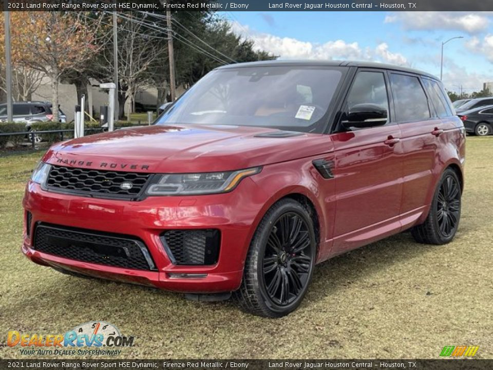 Front 3/4 View of 2021 Land Rover Range Rover Sport HSE Dynamic Photo #2