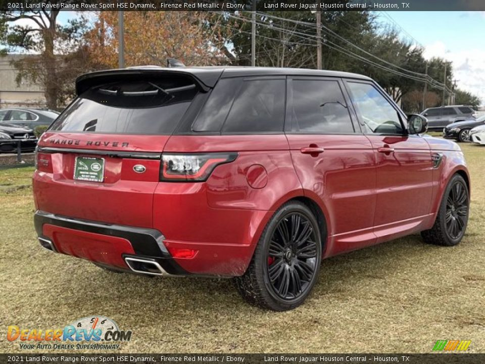 2021 Land Rover Range Rover Sport HSE Dynamic Firenze Red Metallic / Ebony Photo #3