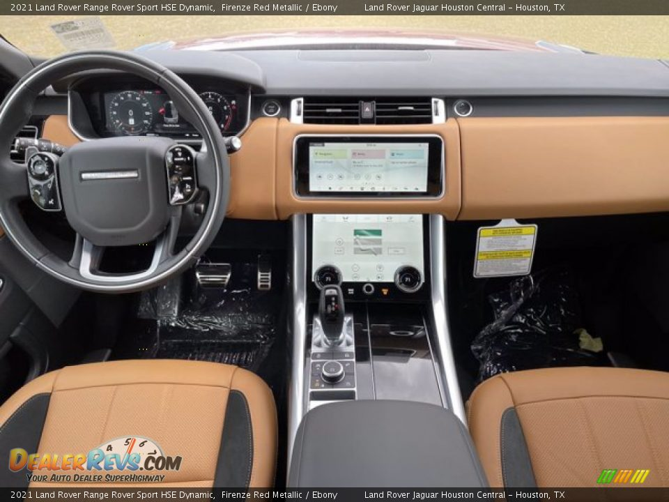 Dashboard of 2021 Land Rover Range Rover Sport HSE Dynamic Photo #5