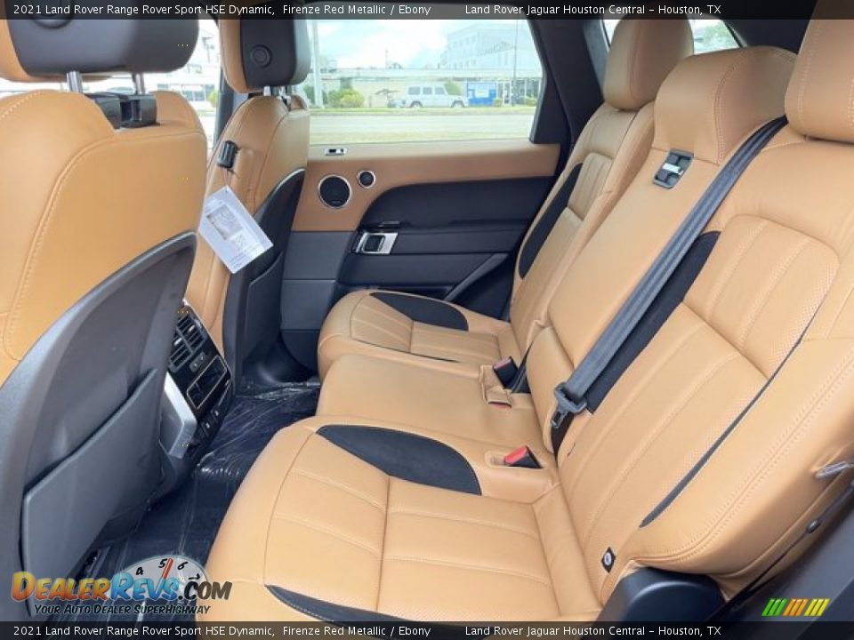 Rear Seat of 2021 Land Rover Range Rover Sport HSE Dynamic Photo #6