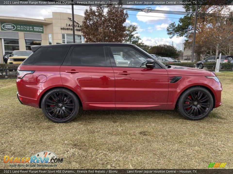 Firenze Red Metallic 2021 Land Rover Range Rover Sport HSE Dynamic Photo #7