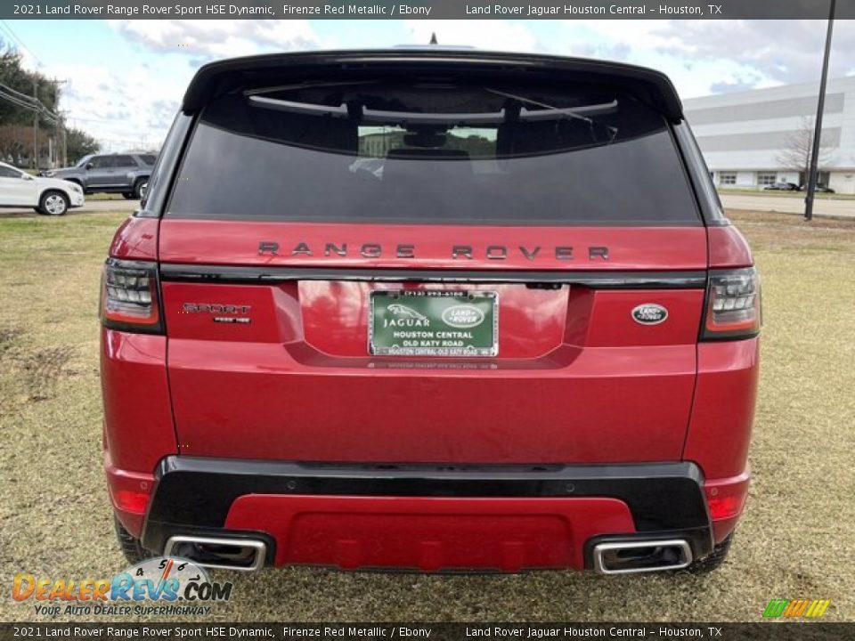 2021 Land Rover Range Rover Sport HSE Dynamic Firenze Red Metallic / Ebony Photo #9