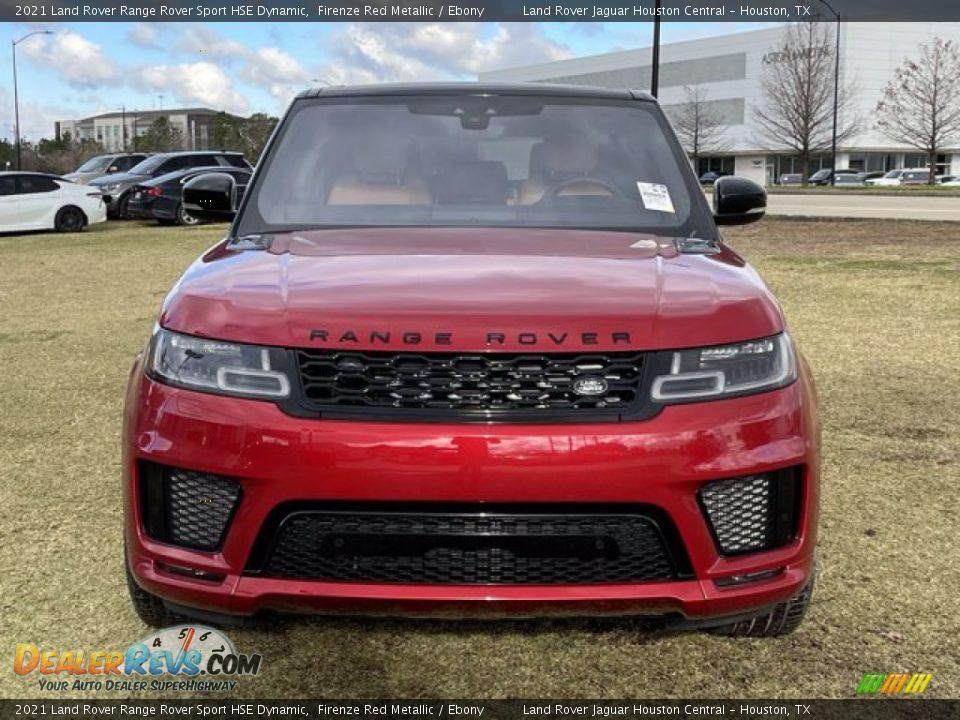 2021 Land Rover Range Rover Sport HSE Dynamic Firenze Red Metallic / Ebony Photo #10