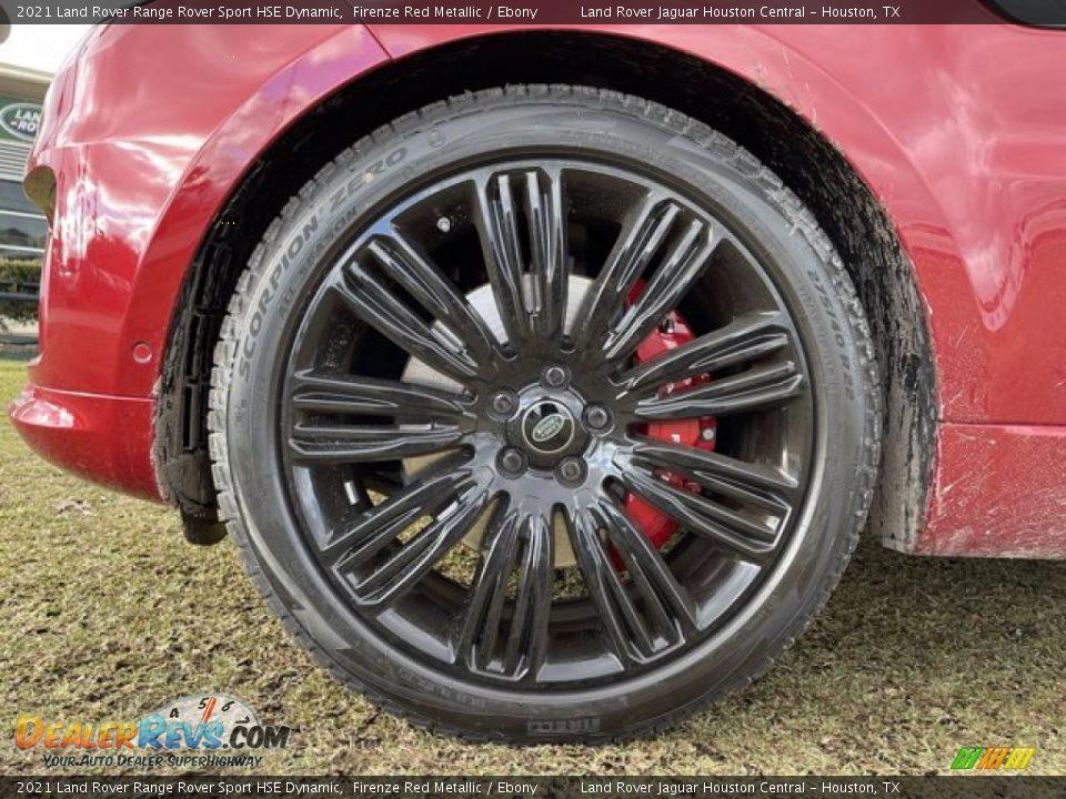 2021 Land Rover Range Rover Sport HSE Dynamic Wheel Photo #11