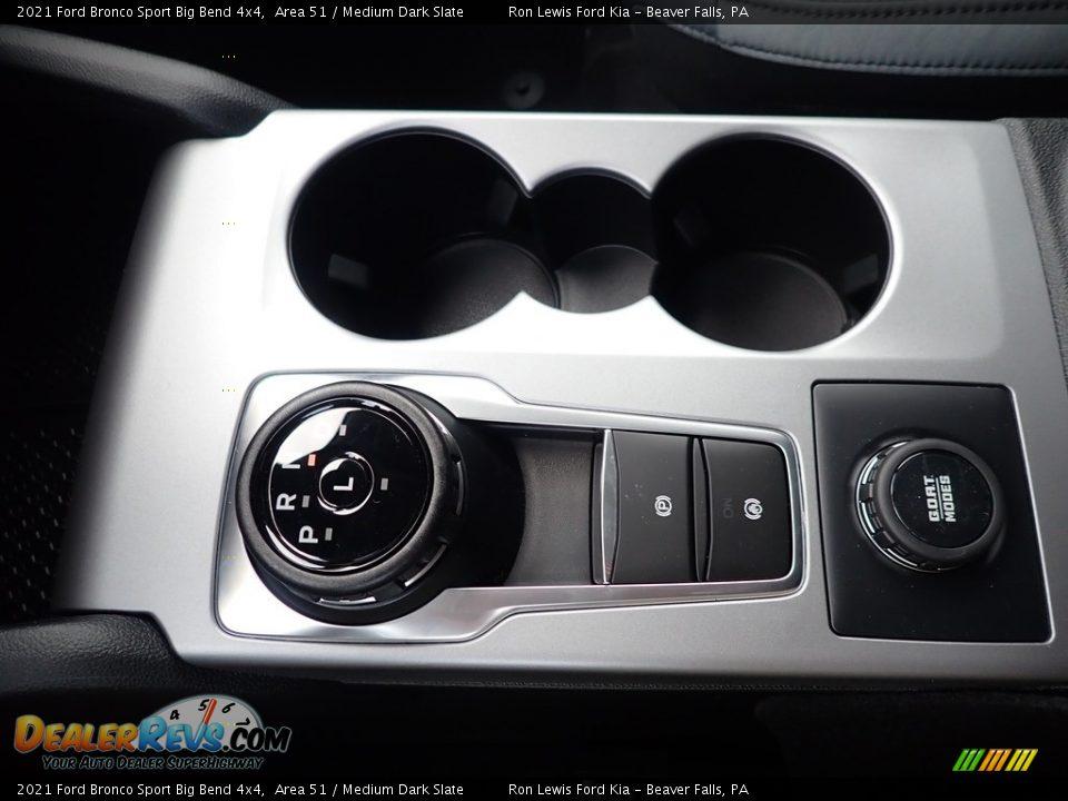 2021 Ford Bronco Sport Big Bend 4x4 Shifter Photo #18