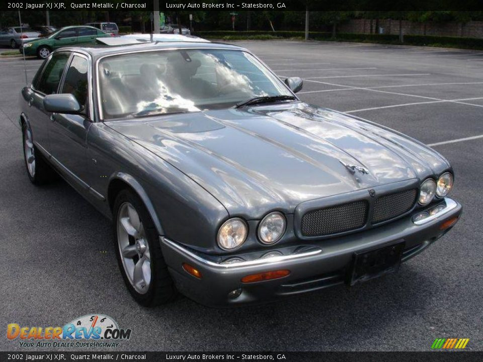 2002 Jaguar Xj Xjr Quartz Metallic Charcoal Photo 8