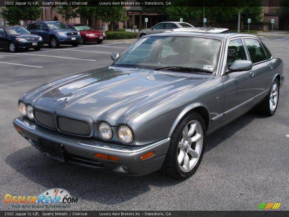 2002 Jaguar Xj Xjr Quartz Metallic Charcoal Photo 9