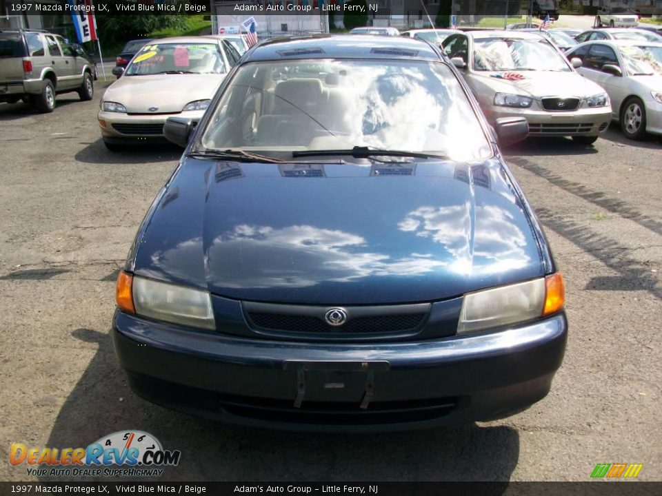 1997 mazda protege lx vivid blue mica beige photo 2. Black Bedroom Furniture Sets. Home Design Ideas