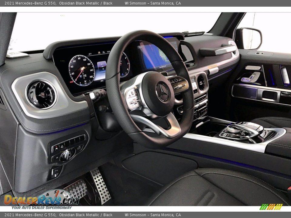 2021 Mercedes-Benz G 550 Obsidian Black Metallic / Black Photo #4
