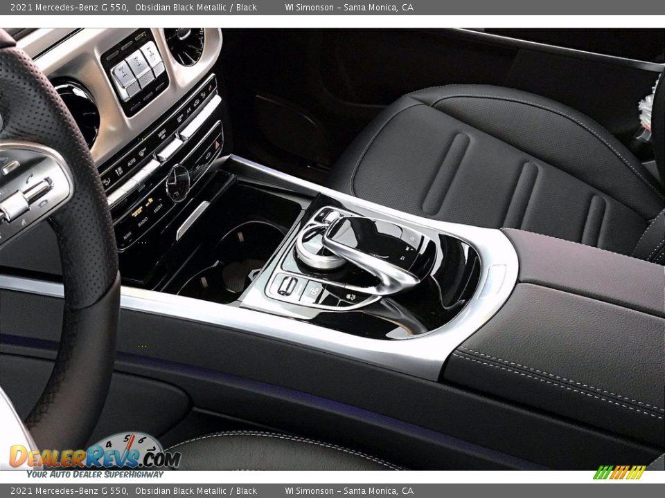 2021 Mercedes-Benz G 550 Obsidian Black Metallic / Black Photo #7