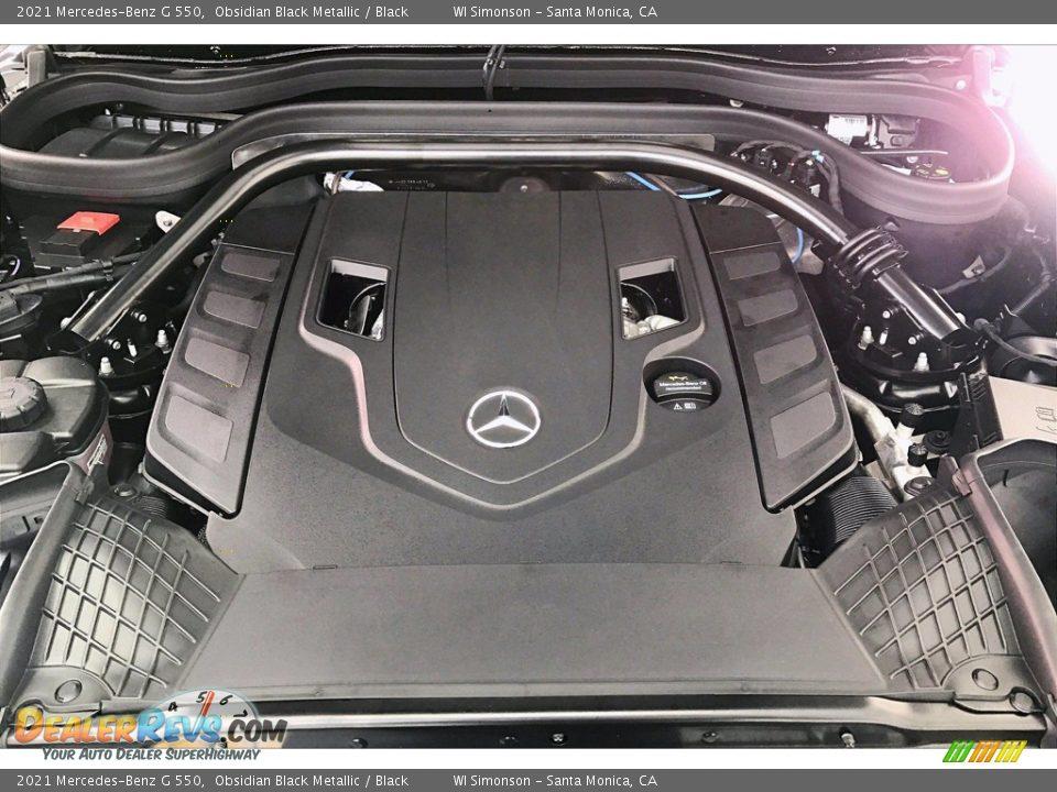 2021 Mercedes-Benz G 550 Obsidian Black Metallic / Black Photo #8