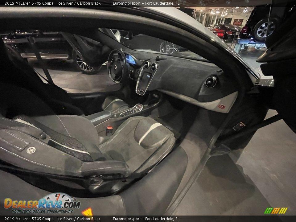 2019 McLaren 570S Coupe Ice Silver / Carbon Black Photo #3
