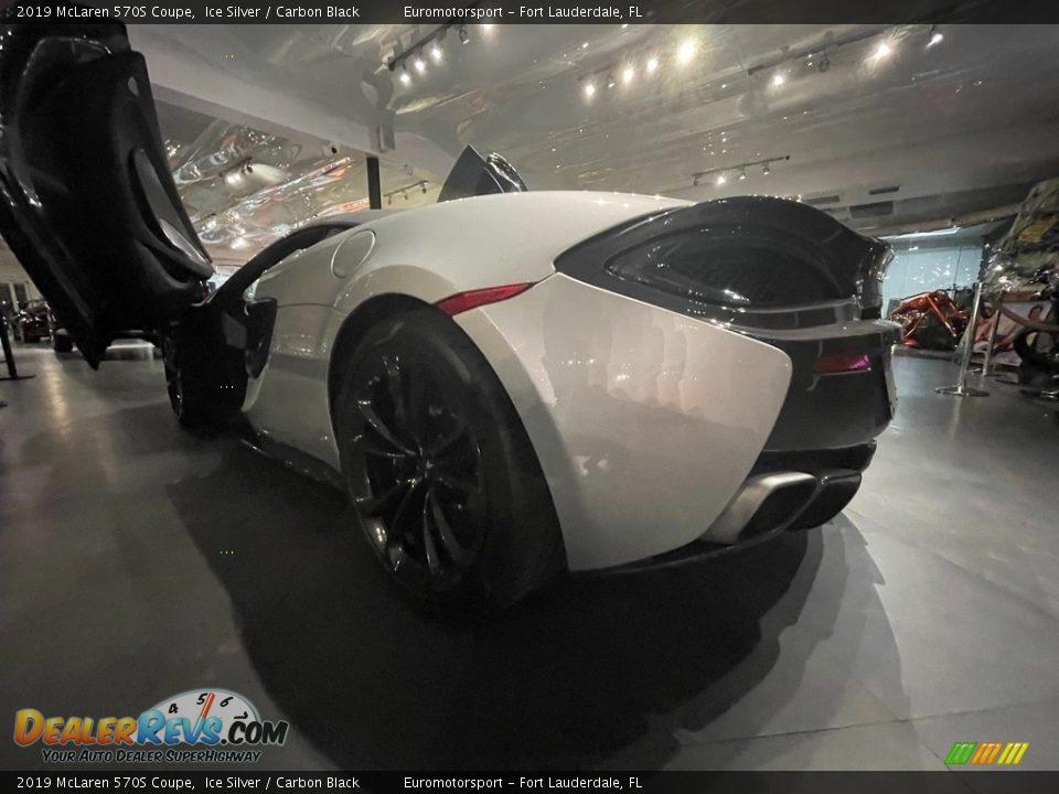 2019 McLaren 570S Coupe Ice Silver / Carbon Black Photo #4