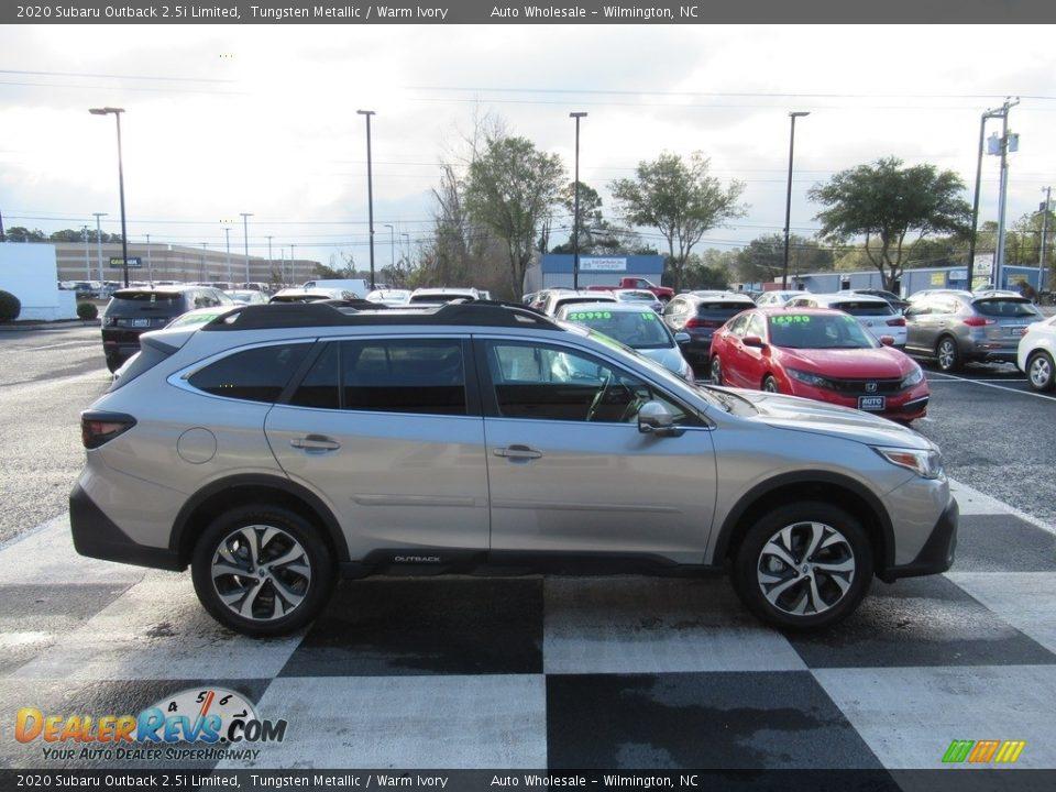 2020 Subaru Outback 2.5i Limited Tungsten Metallic / Warm Ivory Photo #3