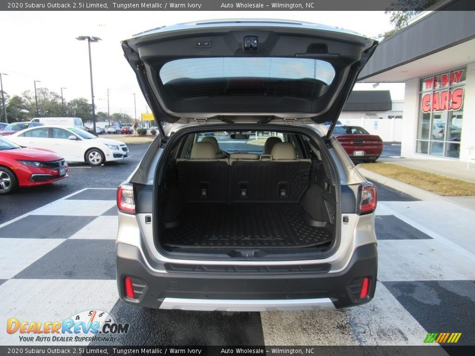 2020 Subaru Outback 2.5i Limited Tungsten Metallic / Warm Ivory Photo #5