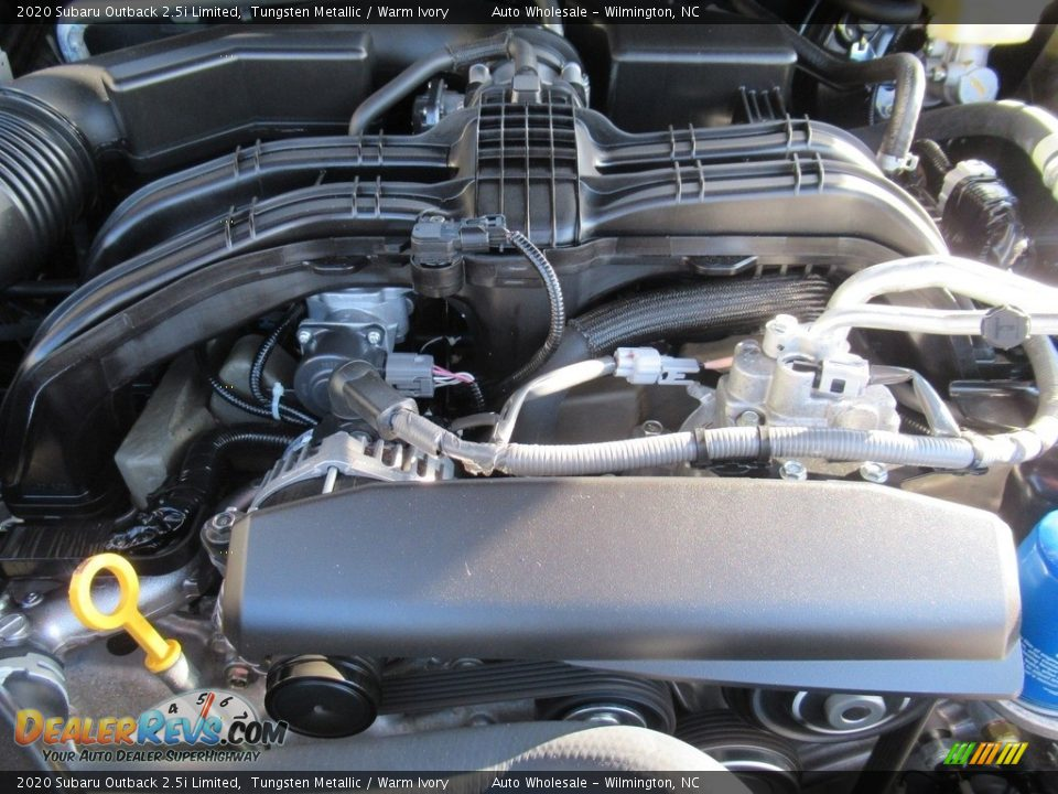 2020 Subaru Outback 2.5i Limited Tungsten Metallic / Warm Ivory Photo #6