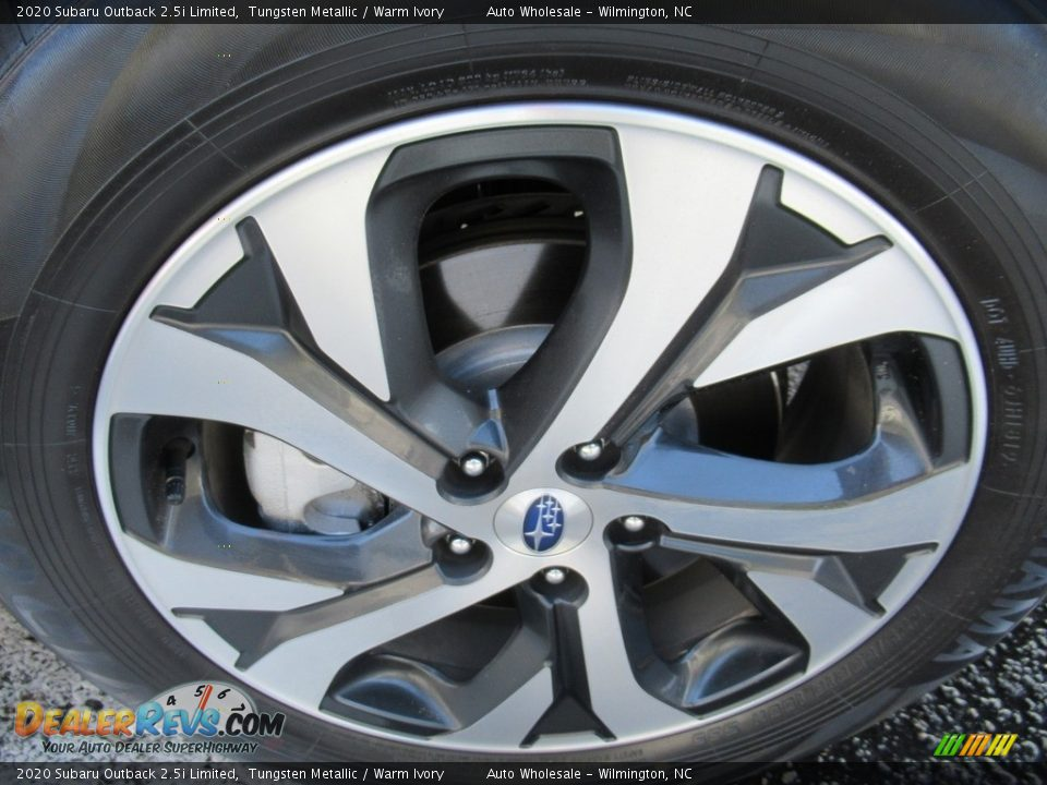 2020 Subaru Outback 2.5i Limited Tungsten Metallic / Warm Ivory Photo #7