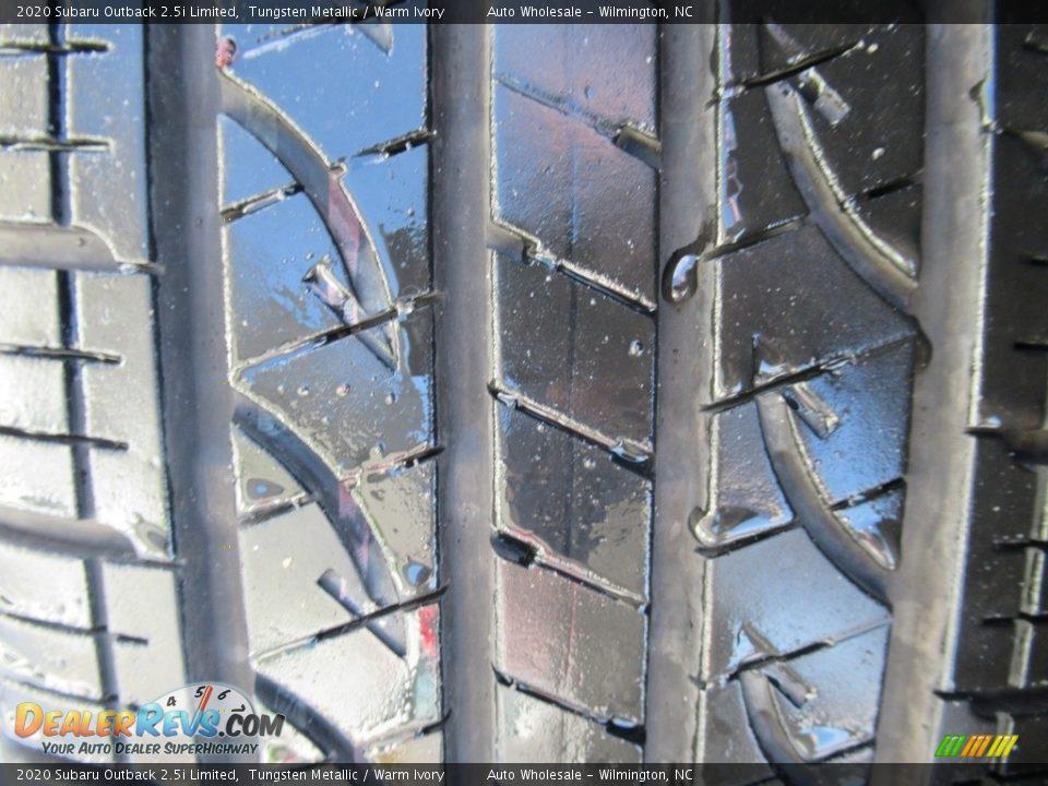 2020 Subaru Outback 2.5i Limited Tungsten Metallic / Warm Ivory Photo #8