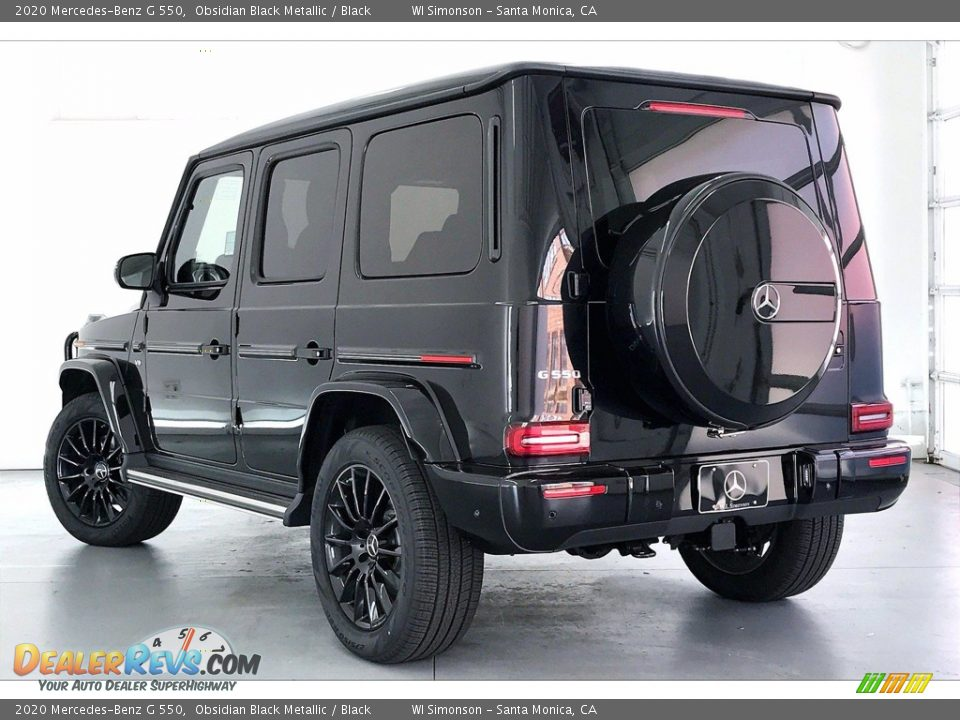 2020 Mercedes-Benz G 550 Obsidian Black Metallic / Black Photo #2
