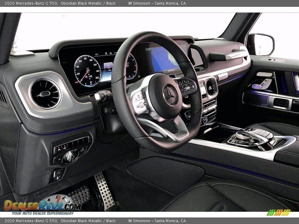 2020 Mercedes-Benz G 550 Obsidian Black Metallic / Black Photo #4