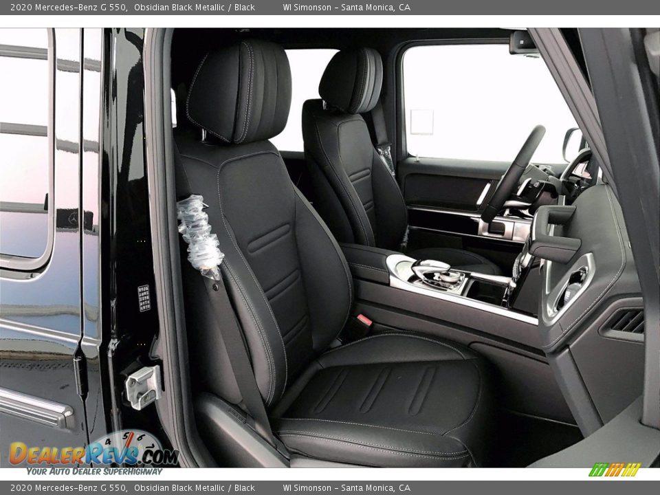 2020 Mercedes-Benz G 550 Obsidian Black Metallic / Black Photo #5