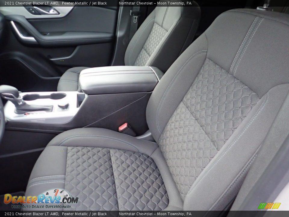 2021 Chevrolet Blazer LT AWD Pewter Metallic / Jet Black Photo #12