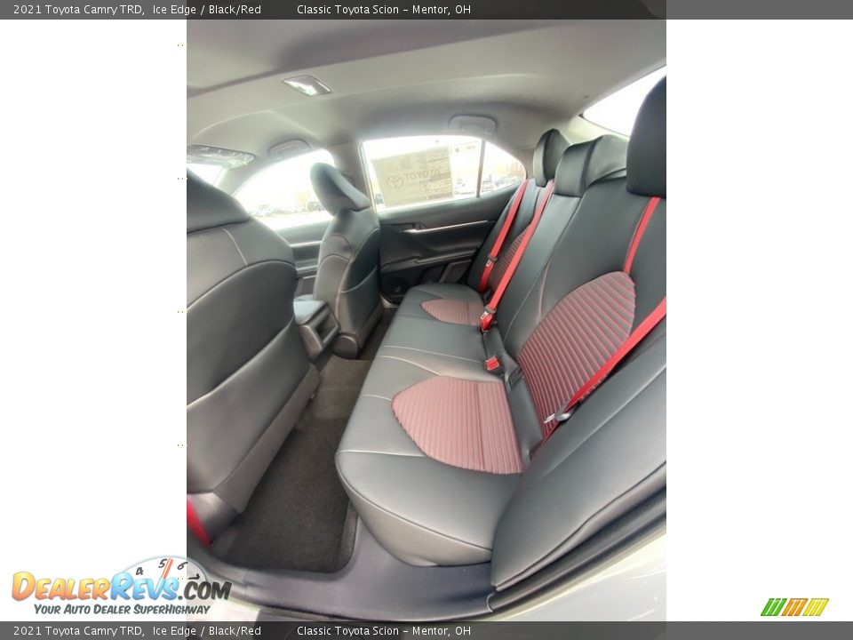 Rear Seat of 2021 Toyota Camry TRD Photo #3