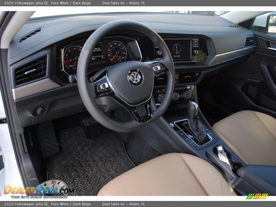 Dashboard of 2020 Volkswagen Jetta SE Photo #13