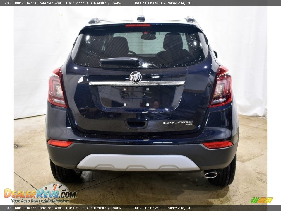 2021 Buick Encore Preferred AWD Dark Moon Blue Metallic / Ebony Photo #3