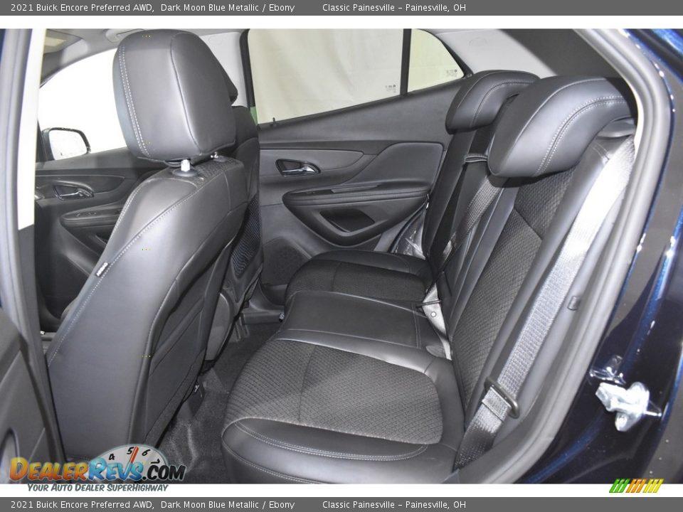 2021 Buick Encore Preferred AWD Dark Moon Blue Metallic / Ebony Photo #7